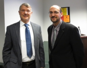 Professor Donald Raleigh with Dr. David Cooper