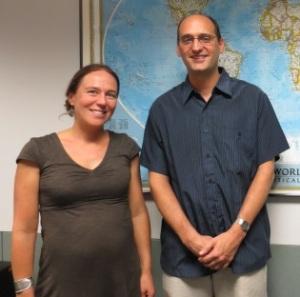 Professor Amelia Glaser with REEEC Director Prof. David Cooper