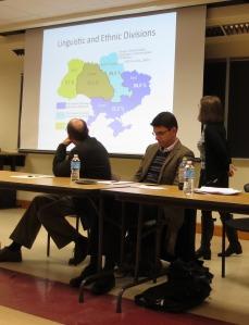 Carol Leff discusses the linguistic and ethnic divisions in Ukraine