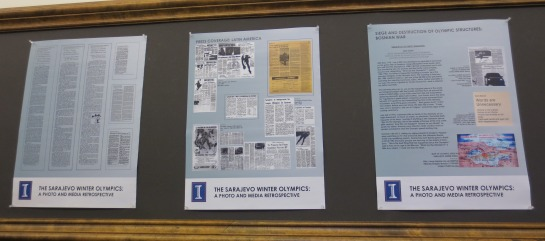 "Main Library exhibit ""The Sarajevo Winter Olympics: A Photo and Media Retrospective"""