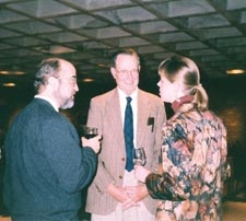 Fisher, Steinberg, and Prof. Donna Buchanan.