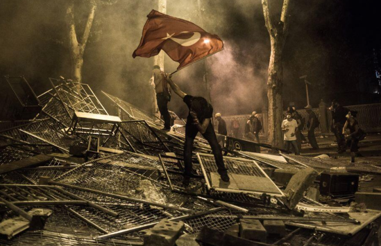 Gezi Park protests in Istanbul, Turkey in summer 2013