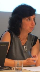 Prof. Valeria Sobol giving her Noontime Scholars Lecture