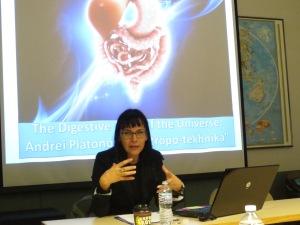 Ph.D. candidate Marina Filipovic