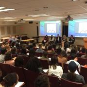 Panel of University of Illinois alumni