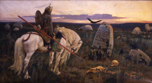Viktor Vasnetsov, Knight at the Crossroads, 1882